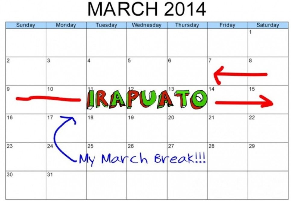 March Break 2014